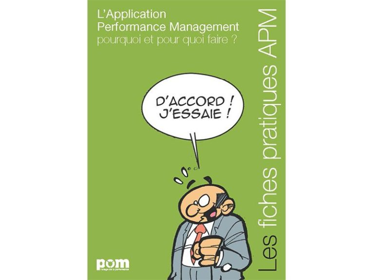 Création du guide Application Performance Management