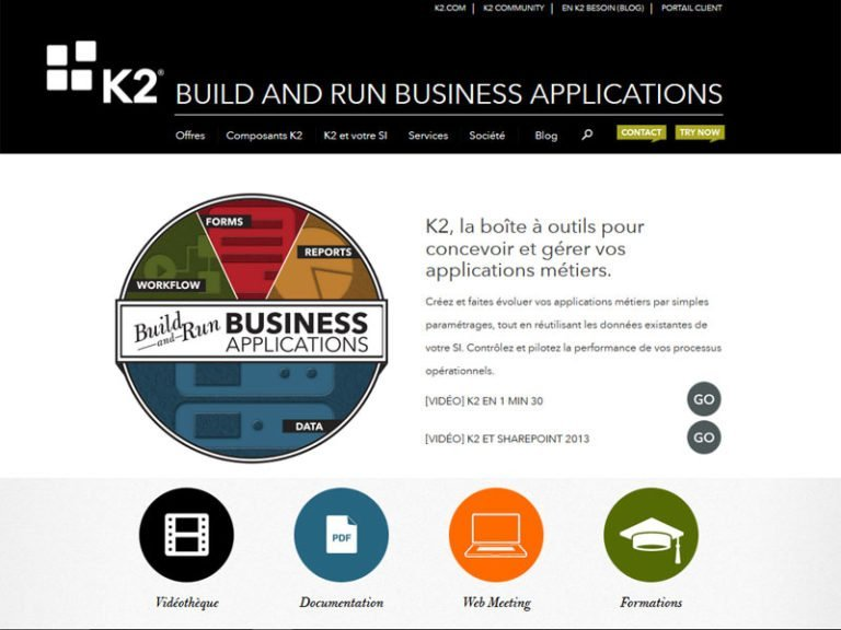 Refonte du site web K2 France