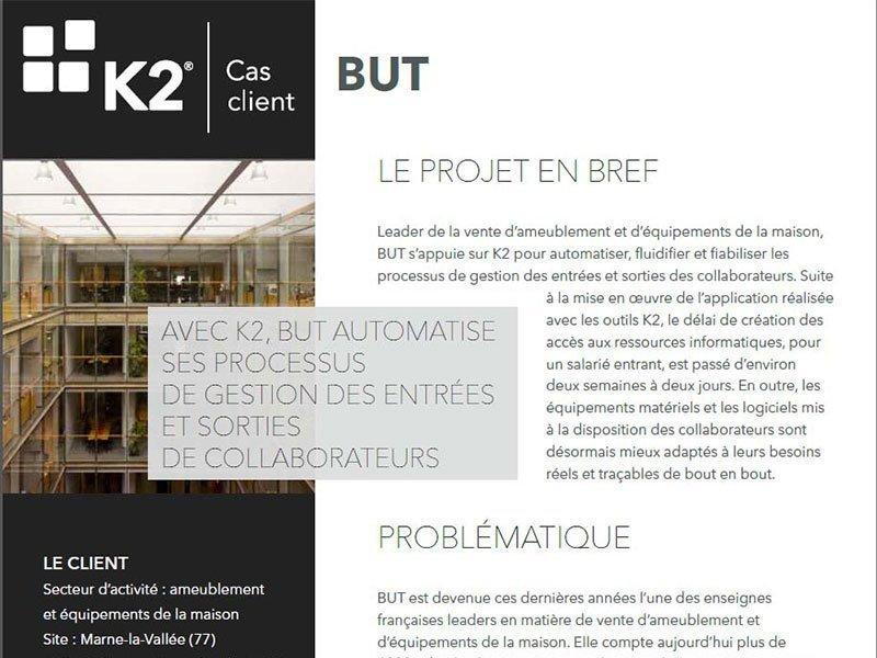 cas client k2 france