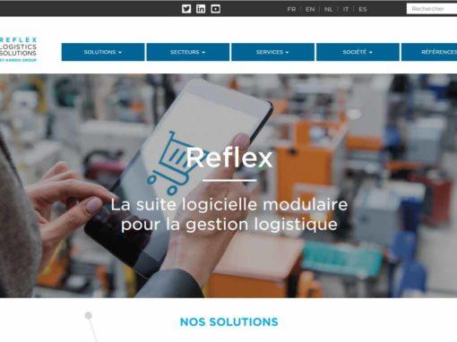 Rédaction des contenus du site web Reflex Logistics