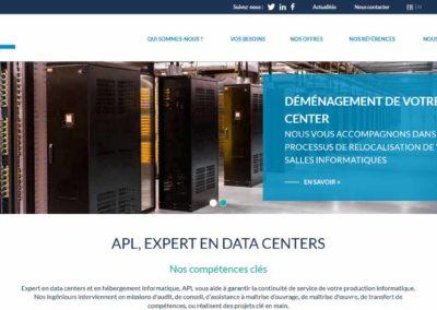 Refonte du site internet apl-datacenter.com